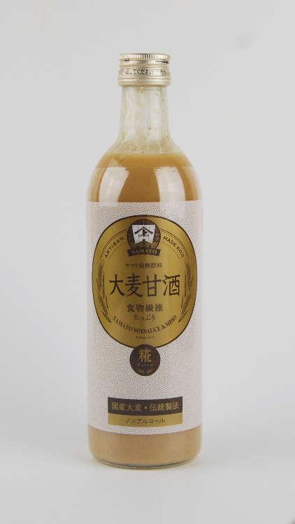 大麦と米糀だけで造った日本初の「大麦甘酒」