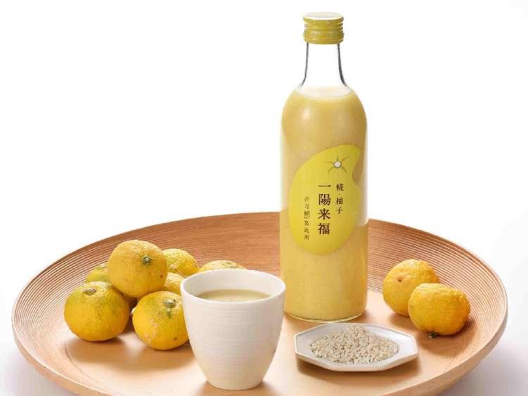 福を呼ぶ、柚子味の糀甘酒 「糀・柚子 一陽来福」