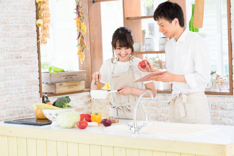 月末の金曜日はお家がレストラン! ~夫婦で作ろう! 1時間でフラワーグルメ・ディナー~