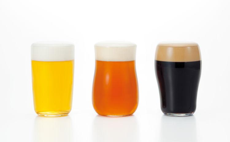 ビールのタイプによって使い分け!? 晩酌がたのしくなる「クラフトビアグラスセット」