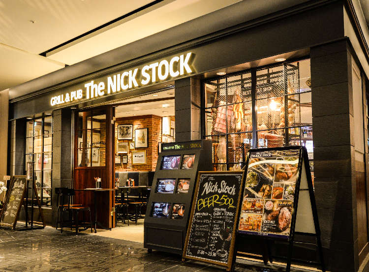 【J‐CRAFTの飲める店】 GRILL & PUB 「The NICK STOCK」
