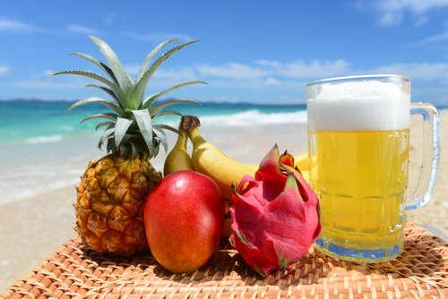 """南国フルーツの香りが""""おいしい""""ビールカクテル"""
