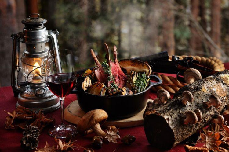 「星のや富士」で9月よりスタート!「秋の狩猟肉(ジビエ)ディナー」
