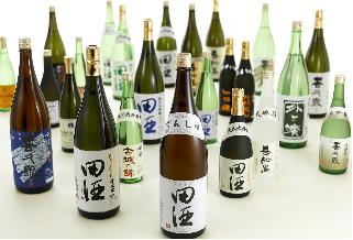 田酒は食事と合わせることで旨味が増す酒