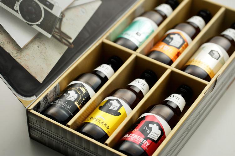 スーツケースに入った6種類のクラフトビールでビール旅!