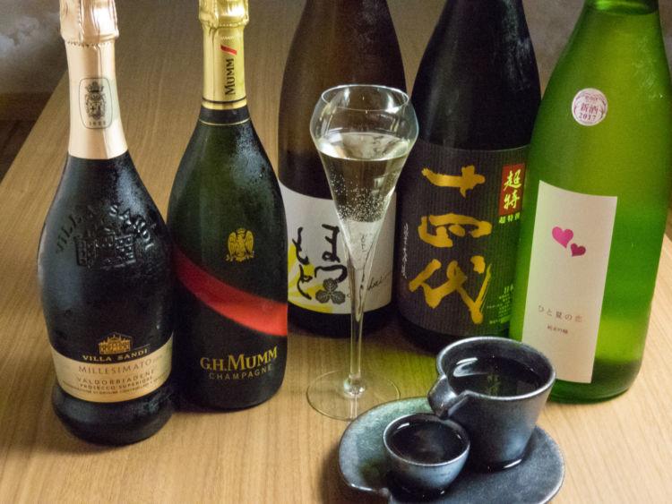 「大和屋三玄 白金台」でお寿司とシャンパンのマリアージュを贅沢にたのしむ!