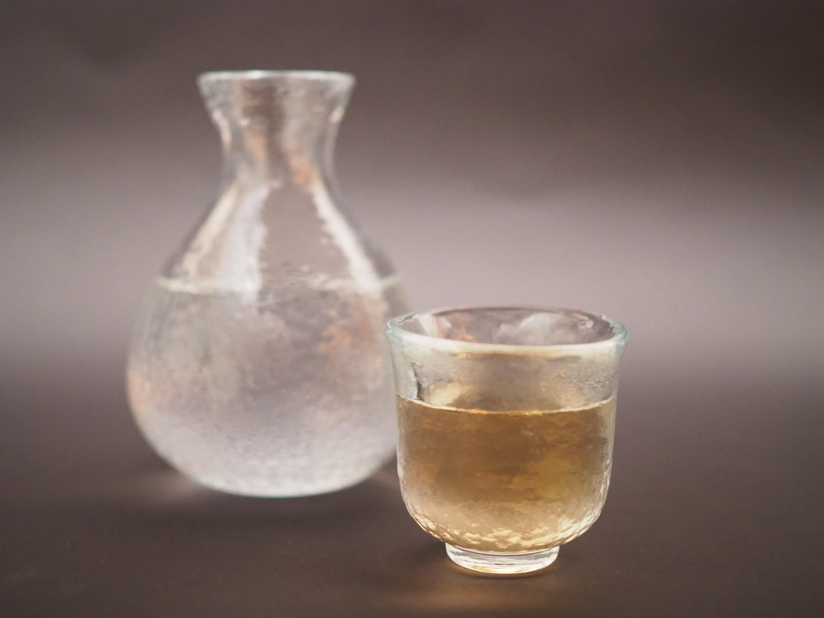 『ハーブの恵み』の日本酒割り