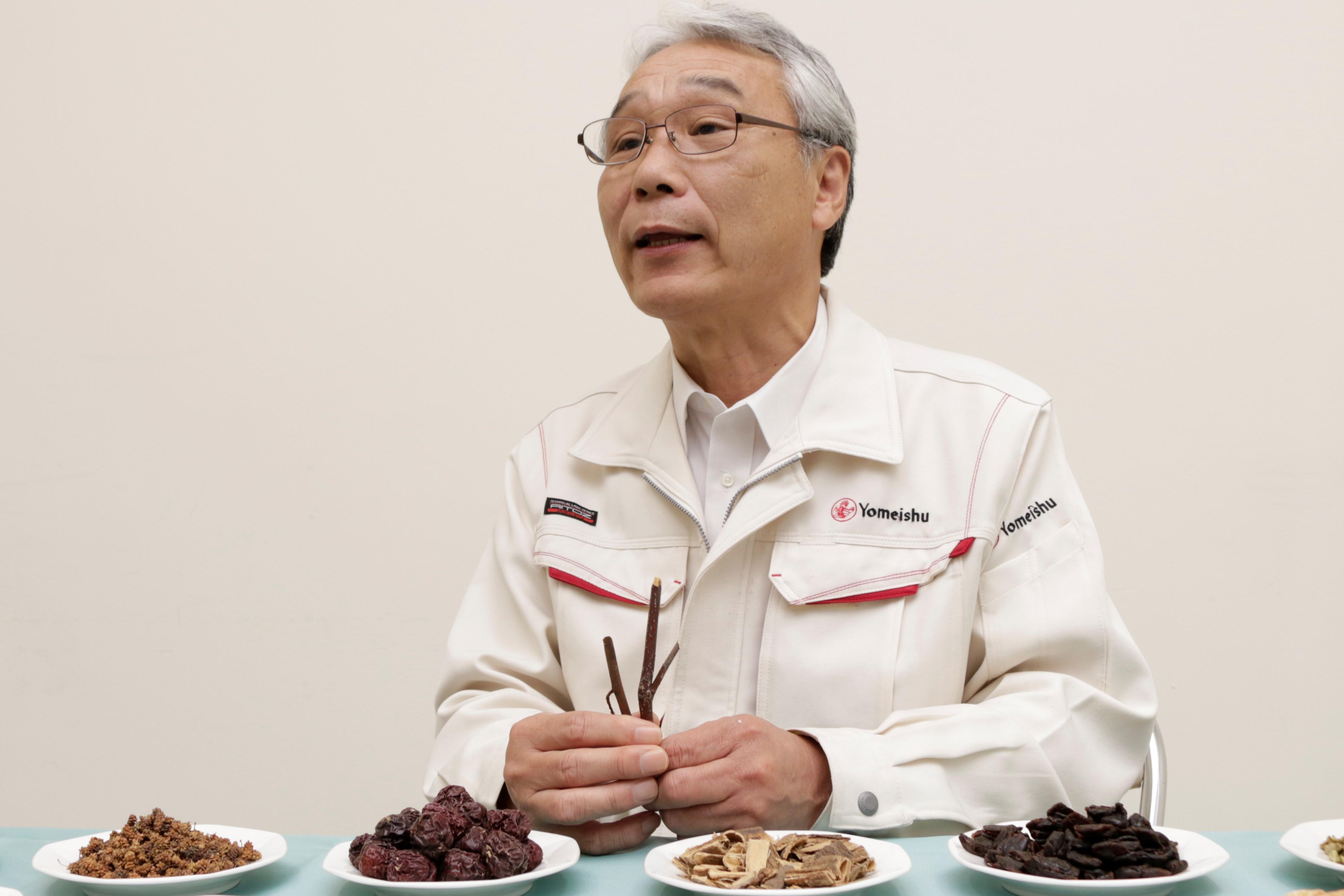 なかでも、日本固有種の香木の代表格であり、爽快感のある香りが特徴のクロモジをブレンドしたことは、「長年の研究のたまもの」と、大森氏は胸を張ります。