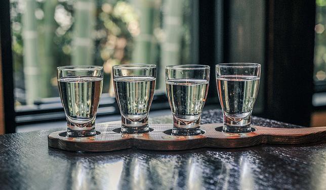 「天青」のおもなラインナップは原料米や醸造法による4種類