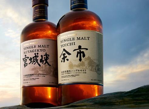 ニッカのウイスキーの種類1:モルトウイスキー「余市」「宮城峡」「竹鶴ピュアモルト」