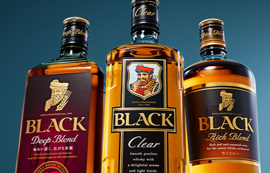 ニッカのウイスキーの種類2:「ブラックニッカ」をはじめとしたブレンデッドウイスキー