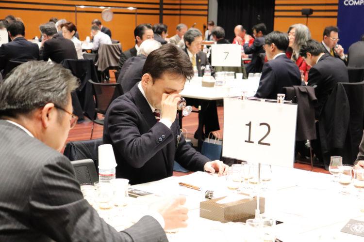 審査員は180名超。品評会は3月11日(月)、12日(火)の両日に3つのセッションに分かれて開催されまし