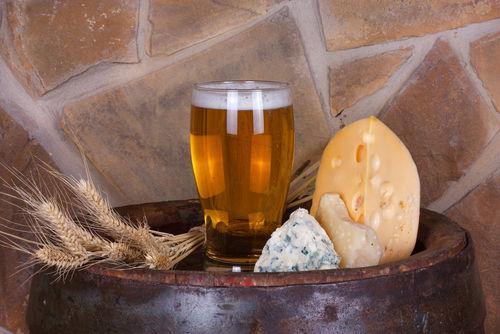 ビールとチーズは好相性!