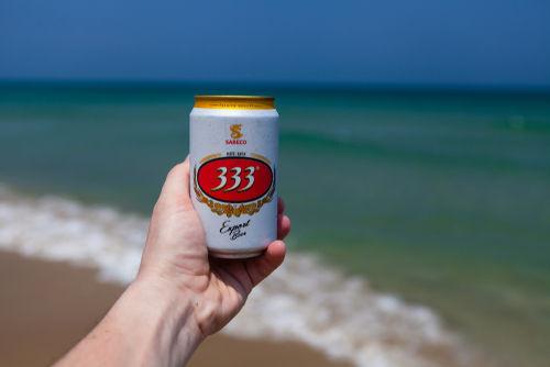 ベトナムビールのおすすめ銘柄1 「333(バーバーバー)」