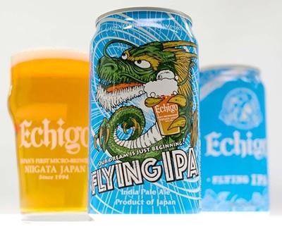 「エチゴビール」の個性的なラインナップ