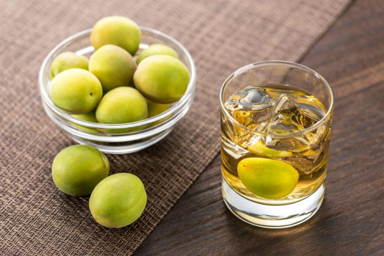 ウイスキーと梅酒のマリアージュ