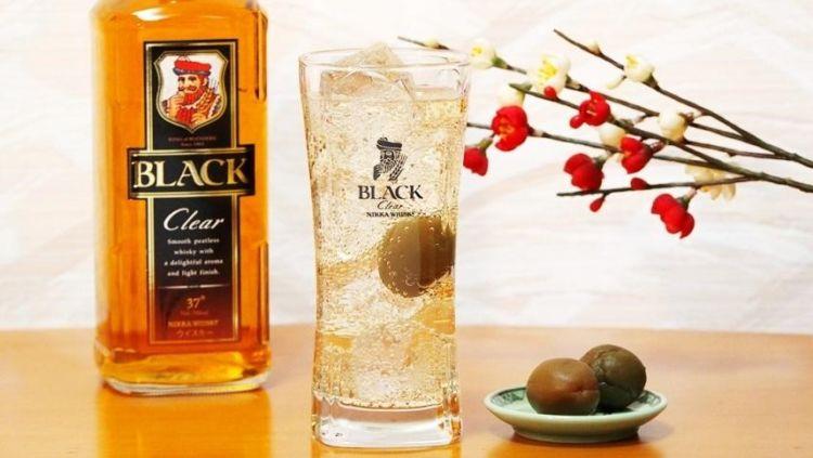 ウイスキーの梅酒割りはウイスキーが主役