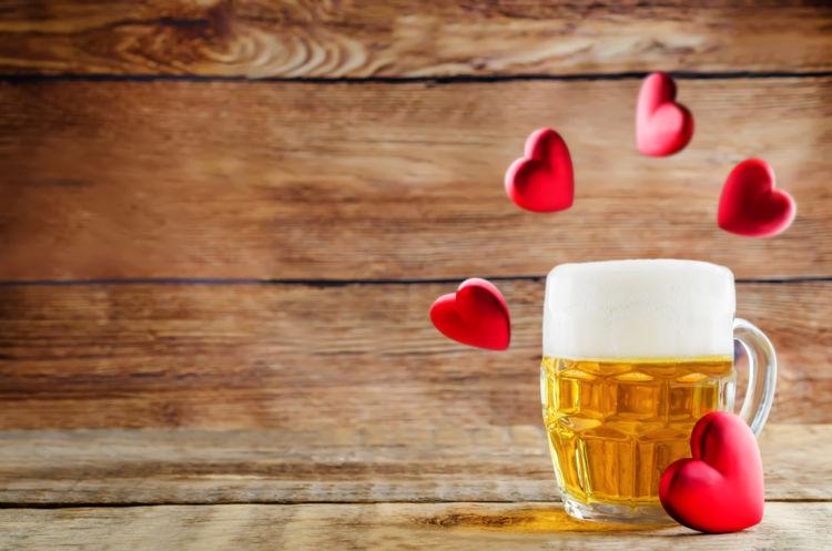 「チョコビール」は、チョコレートのようなほろ苦い香りが人気のビール