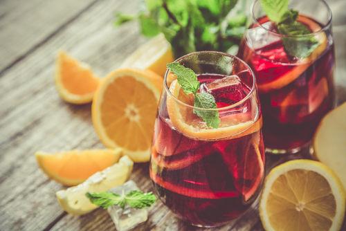 日本酒サングリアの基本的な作り方