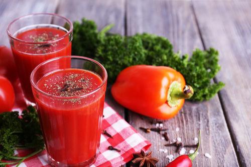 焼酎×野菜ジュースのおいしいレシピ