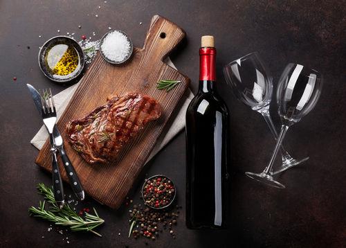 ワインと焼肉は相性抜群