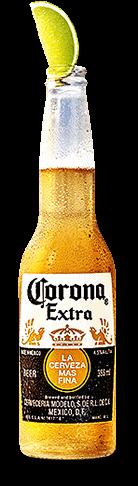 ライムとコロナビールは定番の組み合わせ