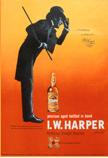 「I.W.ハーパー」は洗練されたイメージから贈答品としても人気