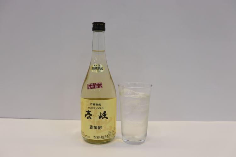 【樫樽で熟成させた芳醇で華やかな香りと、奥深い味わいが特徴 壱岐スーパーゴールド(玄海酒造)】